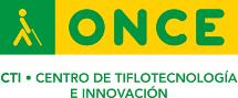Logotipo de CTI - Centro de Tiflotecnología e Innovación de la ONCE..