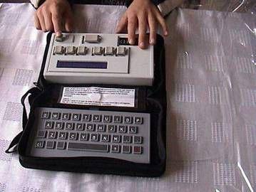 Imagen de screen braille comunicator